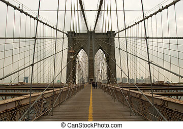 Brooklyn Bridge, Manhatan, New York