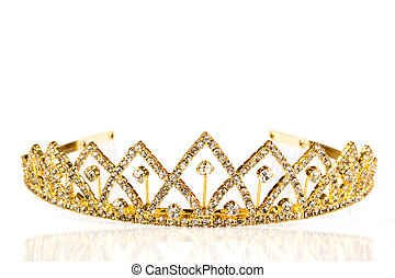 Queen crown. Isolate on white background