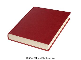 Book - Isolated book on white background