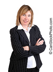 Middle Aged Businesswoman - Attractive Middle Age Mature...