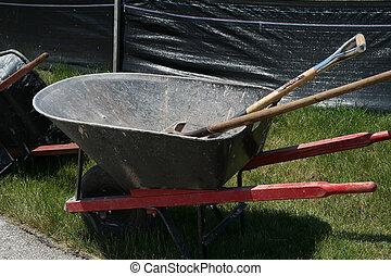 carrinho de mão