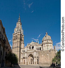 Toledo Cathedral - big file stiched images, more from spain...