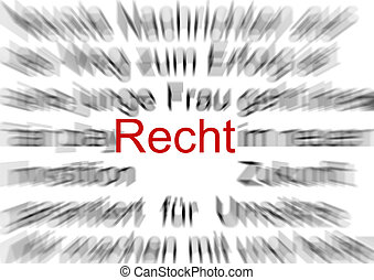 recht - illustration
