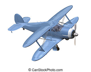 airplane -  airplane 3D isolated
