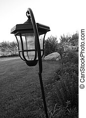 Lamplight - Lamppost in the countryside
