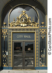 City Hall Door