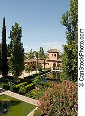 Gardens Alhambra Spain