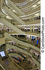 Shopping Mall - 8 floors Mall in San Francisco California