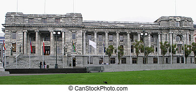 Parliament Buildings NZ - The style derives from English...