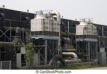 plant - part of a water filtration plant