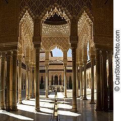 Lion Patio Stiched image - Lion Patio Columns Stiched image