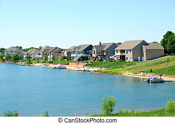 Residential Upscale Lakeside Community - Residential...