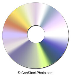 Cd-Rom - Illustration of the Compact Disc