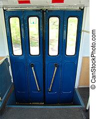 Trolley door