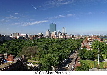 spring morn in boston - early morning in boston...