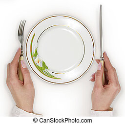 Tableware - Empty plate