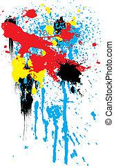 rainbow splat