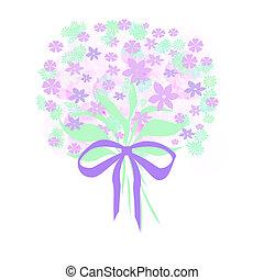 lavender flower bouquet