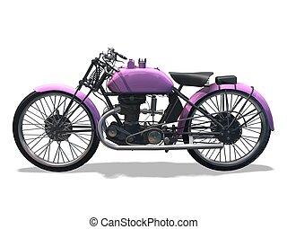 motorbike retro