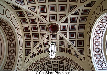 Vaulted ceiling - Beautiful vaulted ceiling; entrance hall...