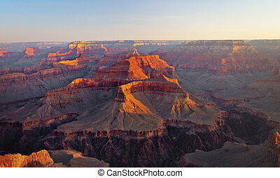 Grand Canyon at Sunrise, Arizona