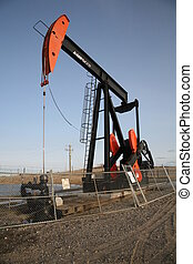 Pump Jack 1 - Conventional Oil well with pump jack.