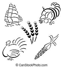 Thanksgiving Design Set