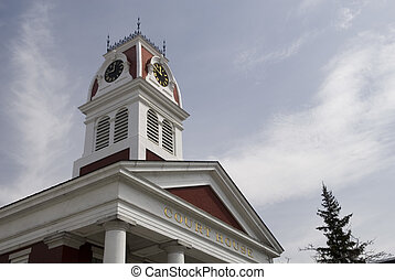 Court House, Montpelier, Vermont - The historic court house...