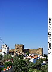 castle of terena village landscape