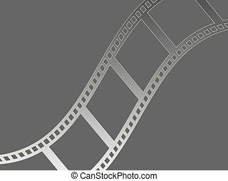 Film strip - Filmstrip background illustration