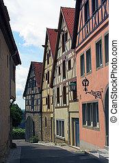Rothenburg street scene, Germany