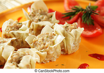 Chinese food - An image of a chinese dimsum dish, sometimes...