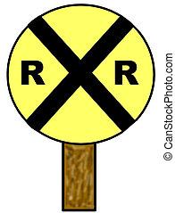 Railroad Crossing Clip Art Railroad Crossing Sign...