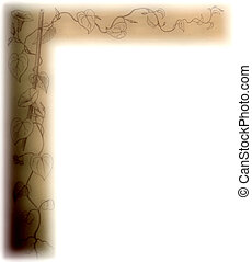 old border - antique style paper border