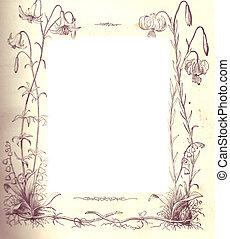 Border Design Floral - Victorian design