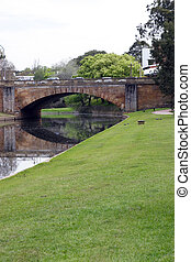 Parramatta River and bridge at Parramatta