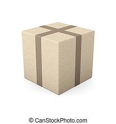 Package - 3D Illustration.