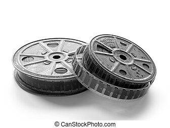 16mm film spools