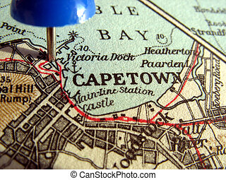 Capetown - The way we looked at Capetown in 1949.