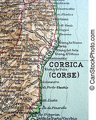 Corsica - The way we looked at Corsica in 1949