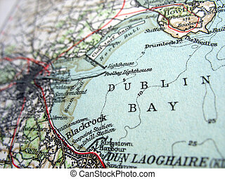 Dublin Bay - The way we looked at Dublin Bay in 1949