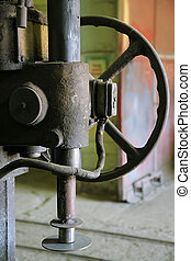 machine tool - The rusty and old metalcutting machine tool