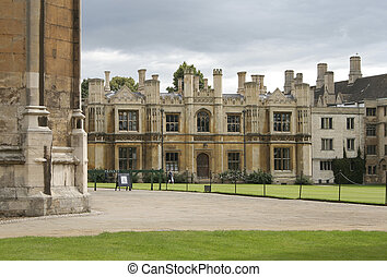 Kings College at Cambrid - One of the most famous places of...