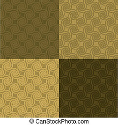golden swirl pattern multi
