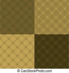 golden swirl pattern multi