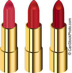 Lipsticks - Three different lipstick