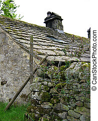 Stone Cottage yorkshire - a stone cottage with stone...