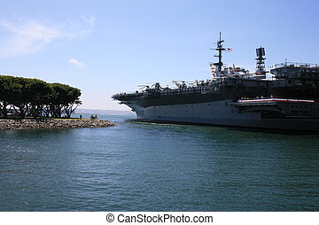 Battleship - The USS Midway in San Diego