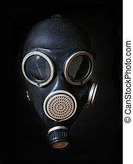 gas, máscara