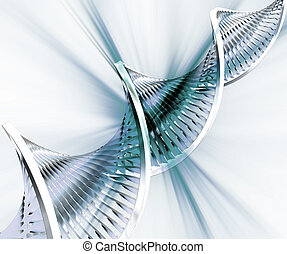 DNA abstract - Abstract DNA background